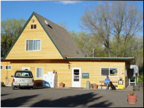 General Store at Eagle RV Park and Campground Thermopolis Wyoming